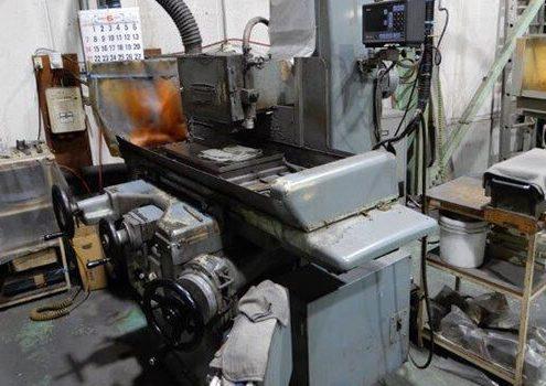 大阪府大東市の金属金型部品製作の日本プレス金型は金型設計や少量多品種の加工の日本プレス金型の保有設備情報の平面研削盤のオカモトの63AN